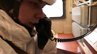 В Воронежской области для связистов устроили испытания в полевых условиях
