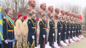 Под Воронежем открыли народную «Аллею Героев»