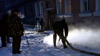 В Воронеже произошло сразу две крупных коммунальных аварии