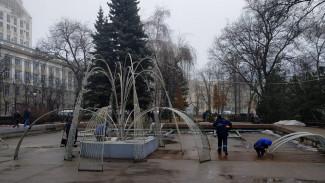 Воронеже досрочно завершился сезон «зимнего фонтана»