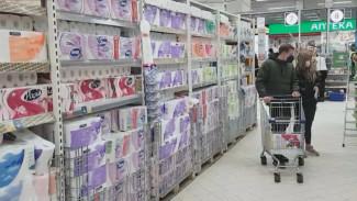 Воронежский гипермаркет повысил цены на туалетную бумагу для паникёров