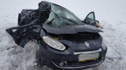 В Нижнедевицком районе Воронежской области ДТП унесло жизни троих человек