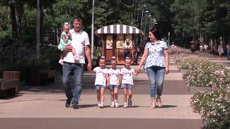 Воронежский депутат поздравила многодетных родителей с Днём семьи, любви и верности