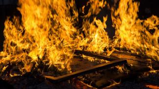 При пожаре в Воронеже погибла пенсионерка