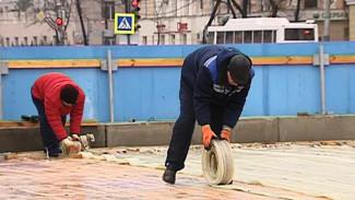 Каток на главной площади Воронежа начали разбирать
