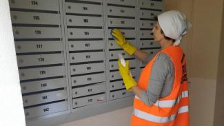 В Воронеже из-за угрозы коронавируса начали дезинфицировать подъезды многоэтажек
