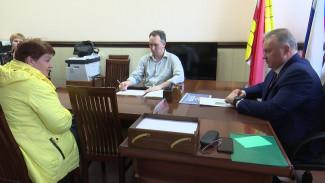 Воронежский депутат провёл приём граждан