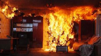 В Воронеже из-за крупного пожара в трёхэтажке эвакуировали 28 человек