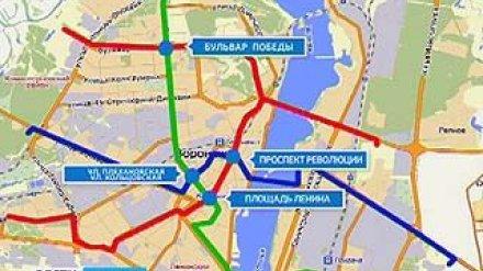 В Воронеже выкопают метро или вновь пустят трамваи