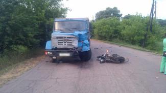 В Воронежской области погибли два мотоциклиста