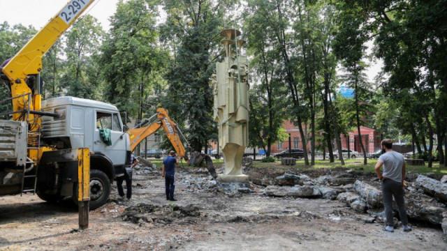 Воронежцы попросили установить фонтан из «Орлёнка» в парке у цирка