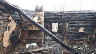 Появились фото с места пожара в воронежском селе, где нашли тела трёх человек