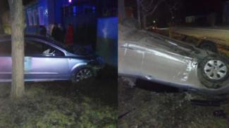 В Воронежской области водитель спровоцировал ДТП с 2 пострадавшими