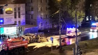 В ночной аварии на левом берегу Воронежа пострадали четыре человека