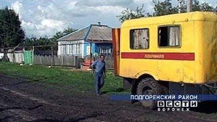 Газификация села Скорорыб выполнена на треть