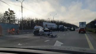 После смертельного ДТП с фурой на трассе М-4 «Дон» под Воронежем возбудили дело
