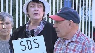 Воронежцы протестуют против строительства катка в парке «Танаис»