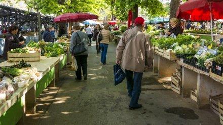 Воронежский рынок строго накажут за игнорирование санитарных правил во время пандемии