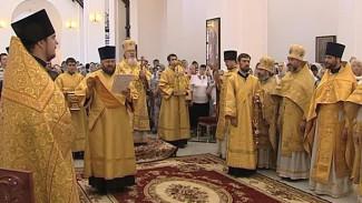 Митрополит освятил храм Святого равноопостольного великого князя Владимира
