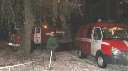 Житель Воронежа пострадал при пожаре в многоэтажке