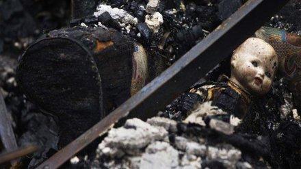 В гибели девочек 2 и 3 лет на пожаре под Воронежем обвинили их мать