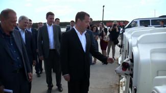 В Воронеже Дмитрий Медведев обрисовал будущее сельских территорий