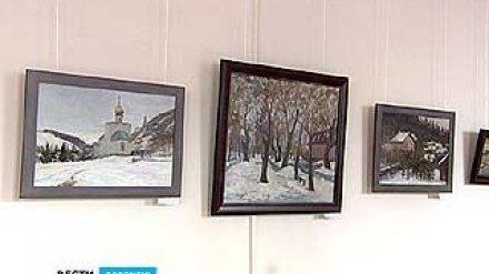В Воронежское художественное училище привезли серию пейзажей из Подгоренского района