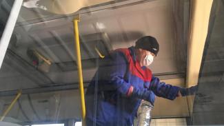 В Липецке началась дезинфекция маршруток и трамваев из-за коронавируса
