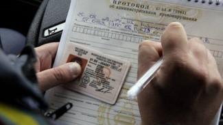 В Воронежской области лишённый прав автомобилист попросил суд арестовать его