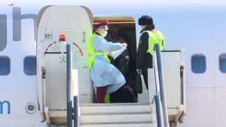 Прилетевших на последнем в сезоне самолёте из Гоа воронежцев проверили на признаки коронавируса