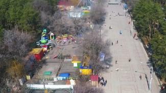 Дирекция воронежского парка «Танаис» развлекала детей на незаконных аттракционах