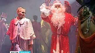 Все новогодние каникулы на арене Воронежского цирка буйство стихий
