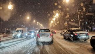 Воронеж из-за мощного снегопада сковали 10-балльные пробки