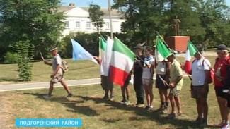 Итальянцы приехали в Ольховатский район почтить память погибших в войне