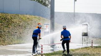 На Нововоронежской АЭС прошли соревнования добровольных пожарных формирований