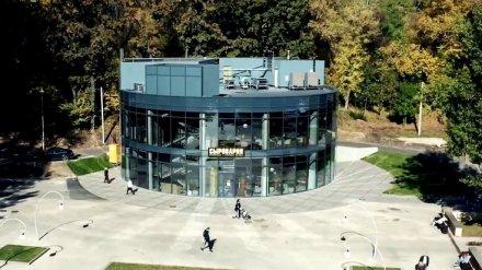 В Центральном парке Воронежа на месте легендарной «шайбы» открыли 2-этажный ресторан