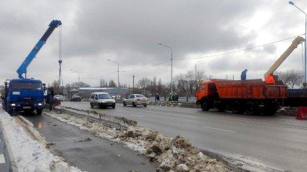 В Воронеже откроют движение по всем шести полосам на виадуке на 9 Января
