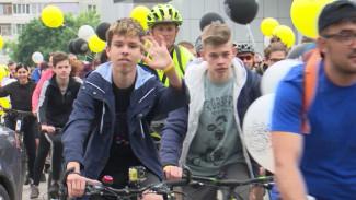 Более двух тысяч человек поучаствовали в велопараде в Воронеже