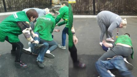 Сотрудники «Пятёрочки» толпой избили воронежца за украденную банку кофе