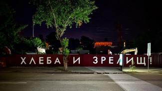 Художника вызвали в полицию из-за граффити о снесённом в центре Воронежа 120-летнем доме