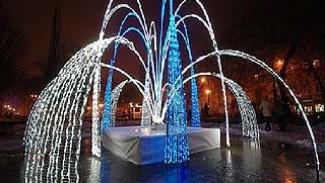 В Кольцовском сквере открывается светодиодный фонтан