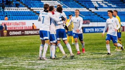 «Факел» выиграл в Воронеже впервые за последние 7 месяцев