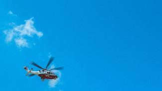 Под Воронежем рухнул вертолёт