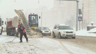 Коммунальщики вывезли с улиц Воронежа 160 КамАЗов снега