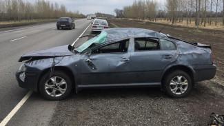 Водитель иномарки пострадал в ДТП на трассе под Воронежем