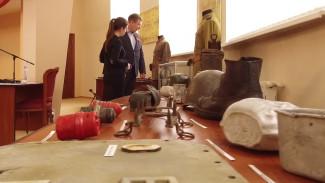 В Воронеже показали фронтовые письма и оружие времён Великой Отечественной войны