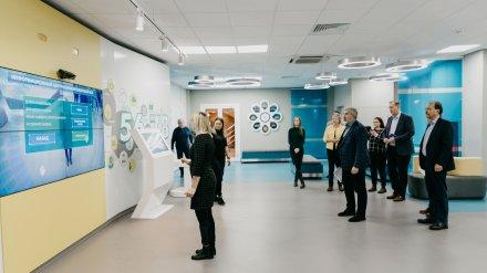 Финские специалисты посетили информационный центр Нововоронежской АЭС