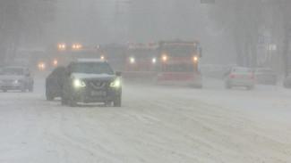 На уборку уйдёт три дня. Как коммунальщики борются с мощным снегопадом в Воронеже