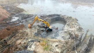 После ЧП с утонувшим экскаватором под Воронежем продолжат расчистку Усманки