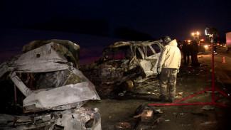 Очевидцы ДТП с 8 жертвами под Воронежем: Lexus вылетел на «встречку» со скоростью 200 км/ч